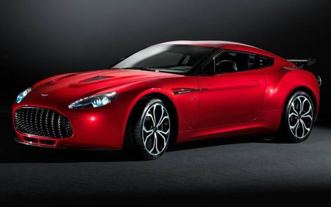 Aston Martin plans to build 150 copies of the V12 Zagato.