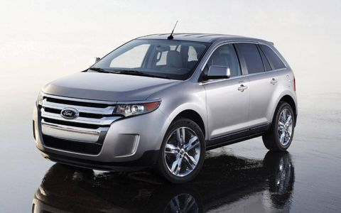 Chicago Auto Show: 2011 Ford Edge