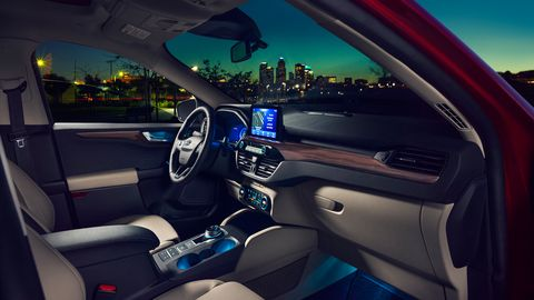 All 2020 Ford Escapes come with five selectable driving modes.