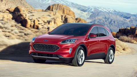 The 2020 Ford Escape offers four powertrain options including two hybrids.