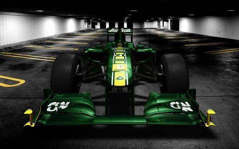 Tire, Wheel, Automotive tire, Mode of transport, Automotive design, Open-wheel car, Green, Vehicle, Automotive exterior, Formula one tyres,