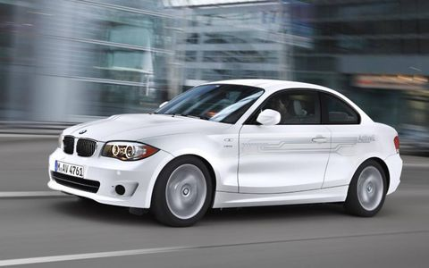 The BMW 1-series ActiveE