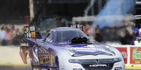Jack Beckman and the rest of the NHRA Mello Yello Series will be live on Fox TV Sunday.