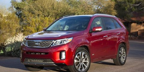 The Kia Sorento might not look that different, but it's new for 2014.