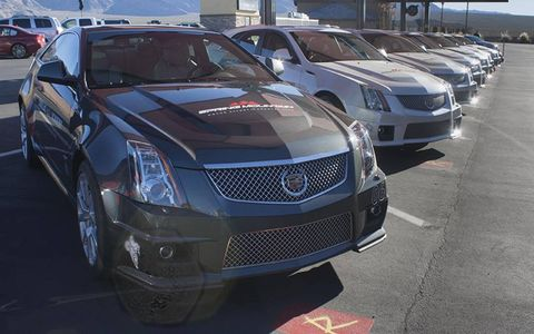 Participants get to choose between coupes, sedans, and wagons.