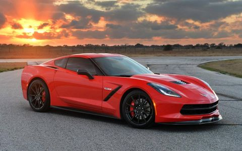 The Hennessey HPE700 Twin Turbo Corvette costs $120,000, including the donor Corvette.
