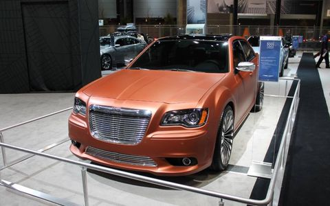 Salmon? Copper? No matter the exact shade, Chrysler's take on the matte finnish is not one of our favorites.