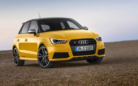 Audi has turned its limited-production A1 Quattro into a full series-production model with the three-door S1 and five-door S1 Sportback.