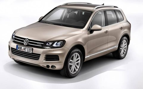 This new Touareg represents VW's first foray into the premium-hybrid-SUV market