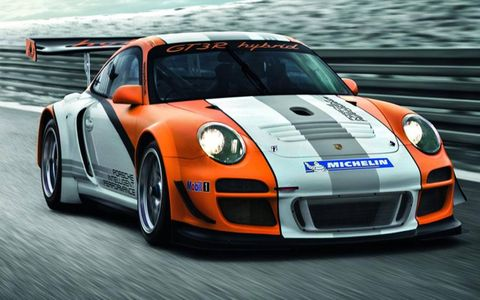 Porsche will bring its latest hybrid know-how to the racetrack in the form of the new 911 GT3 R Hybrid