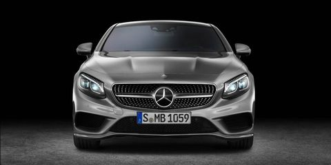 The 2015 Mercedes-Benz S-Class Coupe makes its public debut at the Geneva Motor Show March 4th.