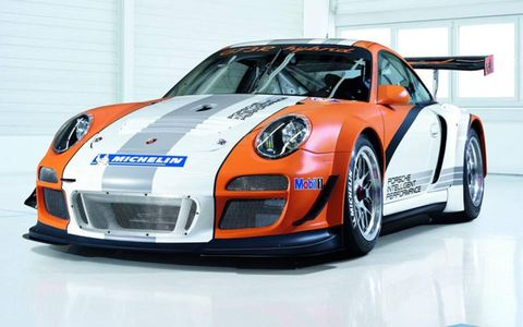 Porsche plans for the stripped-out race car to act as a rolling laboratory