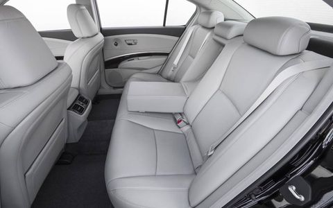 Rear seats get two inches more legroom.