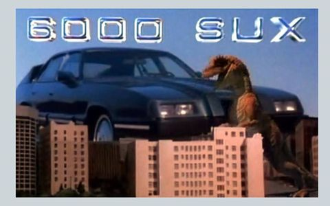 The 6000 SUX from the 1987 film just about stole the show when it came to cars.