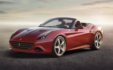 The Ferrari California T makes 552 hp from a turbo V8.