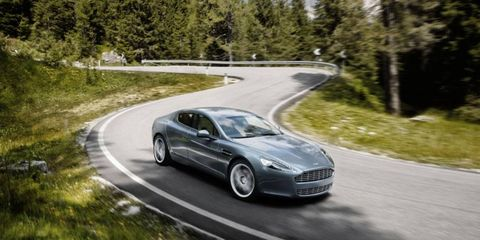 The Rapide takes much of its chassis and powertrain from the splendid DB9