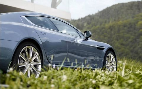 The Rapide is 7 percent stiffer than the DB9 from whence it sprang