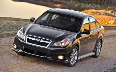 The 2014 Subaru Legacy 2.5i Sport starts out at $24,390.