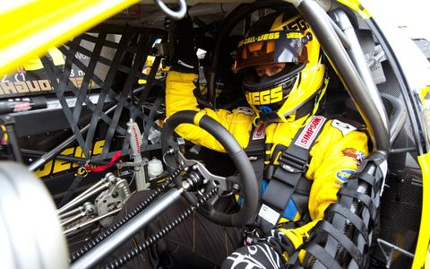 Jeg Coughlin made his return to action after taking off the 2011 season.