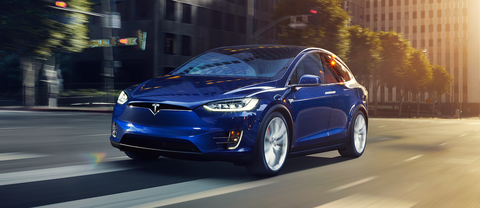 The Tesla Model X P100D is the top-of-the-line SUV from Tesla, all-electric and tuned for ridiculous -  Ludicrous - acceleration: 2.9 seconds from zero-to-60 mph is claimed, though we didn't see that. Inside it's a fully functional, high-tech family hauler.