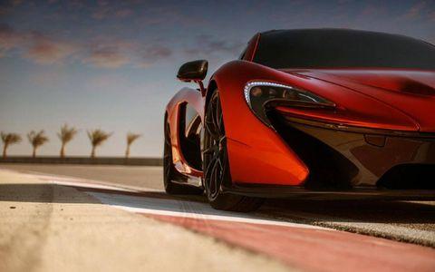 The McLaren P1 will slot above the MP4-12C.