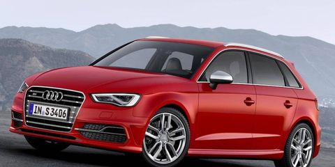 The Audi S3 Sportback goes on sale in Europe this fall. Plans to sell it in the United States haven't been disclosed.