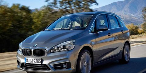 The BMW X1 and X2 will use the UKL1 platform used by the 2-series Active Tourer.