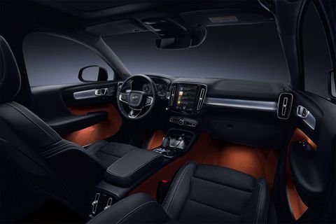 The 2018 Volvo XC40 T5 has a base price of $36,195.