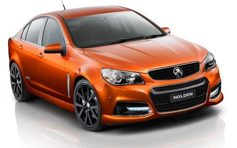 The Holden Commodore is based on the same platform as the Pontiac G8 and upcoming Chevy SS.