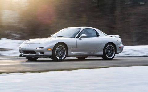 Before finding his car, Wong came up with a list of parameters: it needed to be a clean Mazda RX-7 R2, and it had to be silver. Only 99 such cars were imported to the United States.