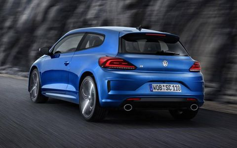 VW wants the Golf GTi to be its fwd performance car in North America, so the upgraded Scirocco will not be sold here.