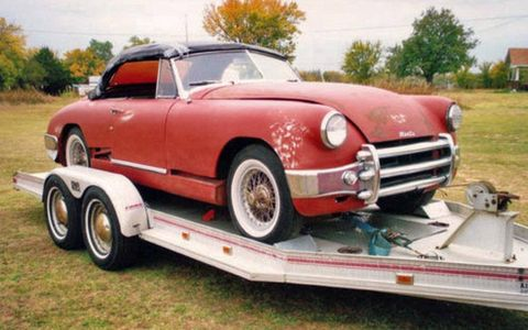 The combination of steel and aluminum bodywork might make this Muntz Jet tricky to restore, but the end result would justify the expense.