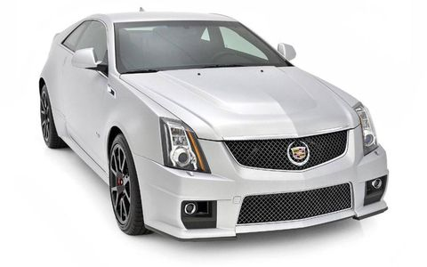 Only 100 Silver Frost CTS-Vs will be produced.