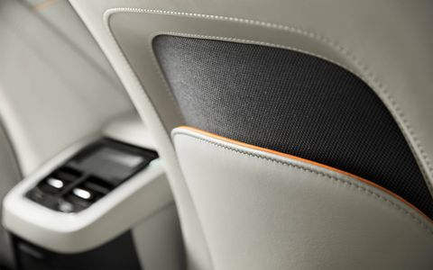 The 2017 Volvo V90 Cross Country rides a bit higher than the standard V90 and comes with 69 cubic feet of total cargo space.