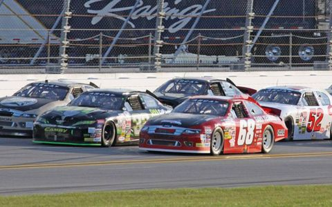 Action from the Lucas Oil 200 ARCA Racing Series event at Daytona International Speedway on Saturday.