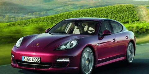 The six-cylinder siblings of the V8 Porsche Panamera will hit U.S. shores in June, packing 300 hp and starting at $75,375 for the rear-wheel-drive model