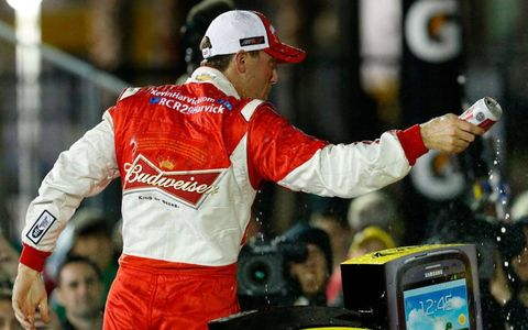 Kevin Harvick kicked off his final season driving for car owner RIchard Childress with a win in the season-opening Sprint Unlimited.