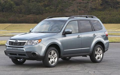 Driver's Log: 2010 Subaru Forester 2.5X