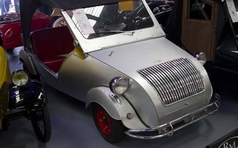Probably the most beautiful car ever made, the Biscuter.