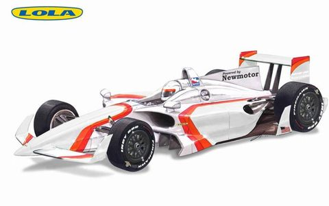 Lola IndyCar Concepts debuted on Feb. 16, 2010