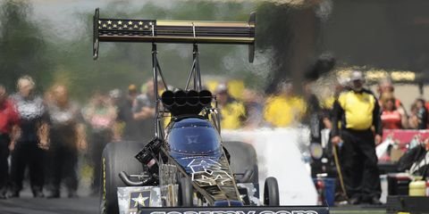 Tony Schumacher beat Larry Dixon in the final on Sunday for career win No. 80.
