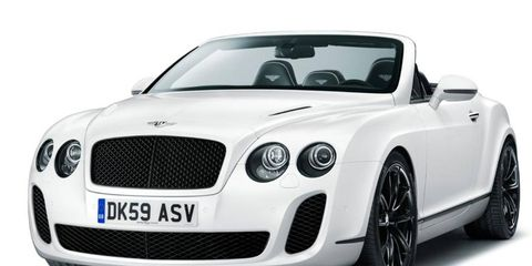 Geneva Preview: 2011 Bentley Continental Supersports Convertible