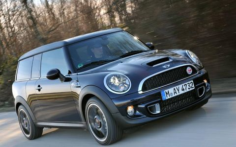 The MINI Cooper SD Clubman 50 Hampton