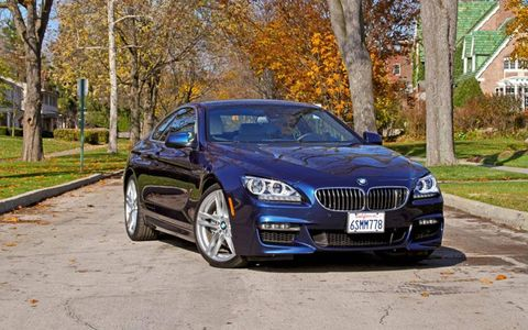 """""""What a absolute beauty this 2012 BMW 650i coupe is--a rolling piece of bad-boy automotive sculpture."""" - Executive Editor Bob Gritzinger"""