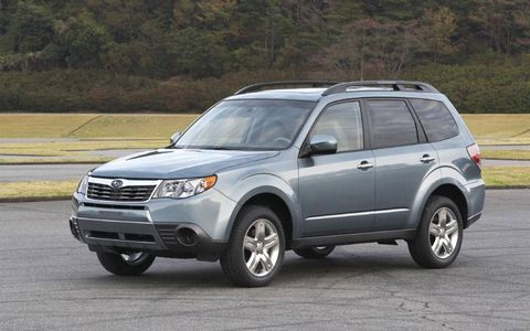 Driver's Log Gallery: 2011 Subaru Forester 2.5X Premium