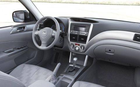 Driver's Log Gallery: 2011 Subaru Forester 2.5X Premium