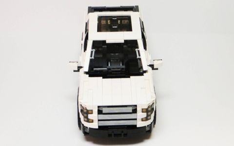 This Ford F-150 Lego Ideas project can become a commercial set if it gets enough votes and then advances to the review and production stages.