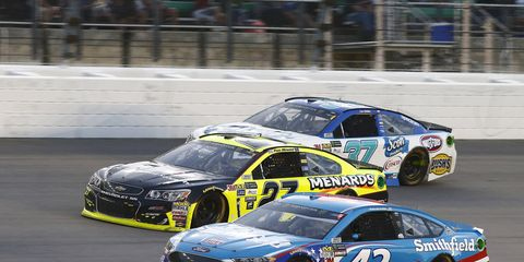 NASCAR veteran Regan Smith will replace the injured Aric Almirola this weekend for the Monster Energy All-Star Event.