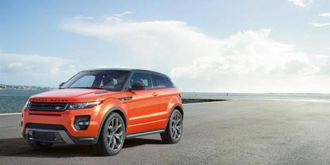 Land Rover Range Rover Evoque Autobiography Dynamic features longer name, more power.