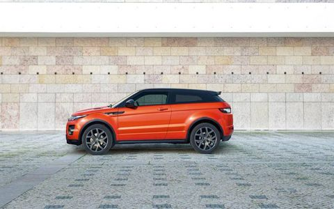 Purchase an Evoque Autobiography Dynamic and get bigger front brake rotors.